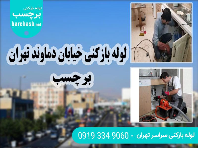 خدمات لوله بازکنی خیابان دماوند تهران برچسب