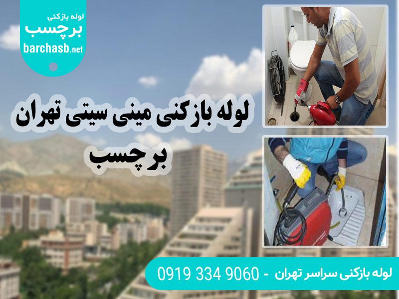 خدمات لوله بازکنی مینی سیتی در تهران